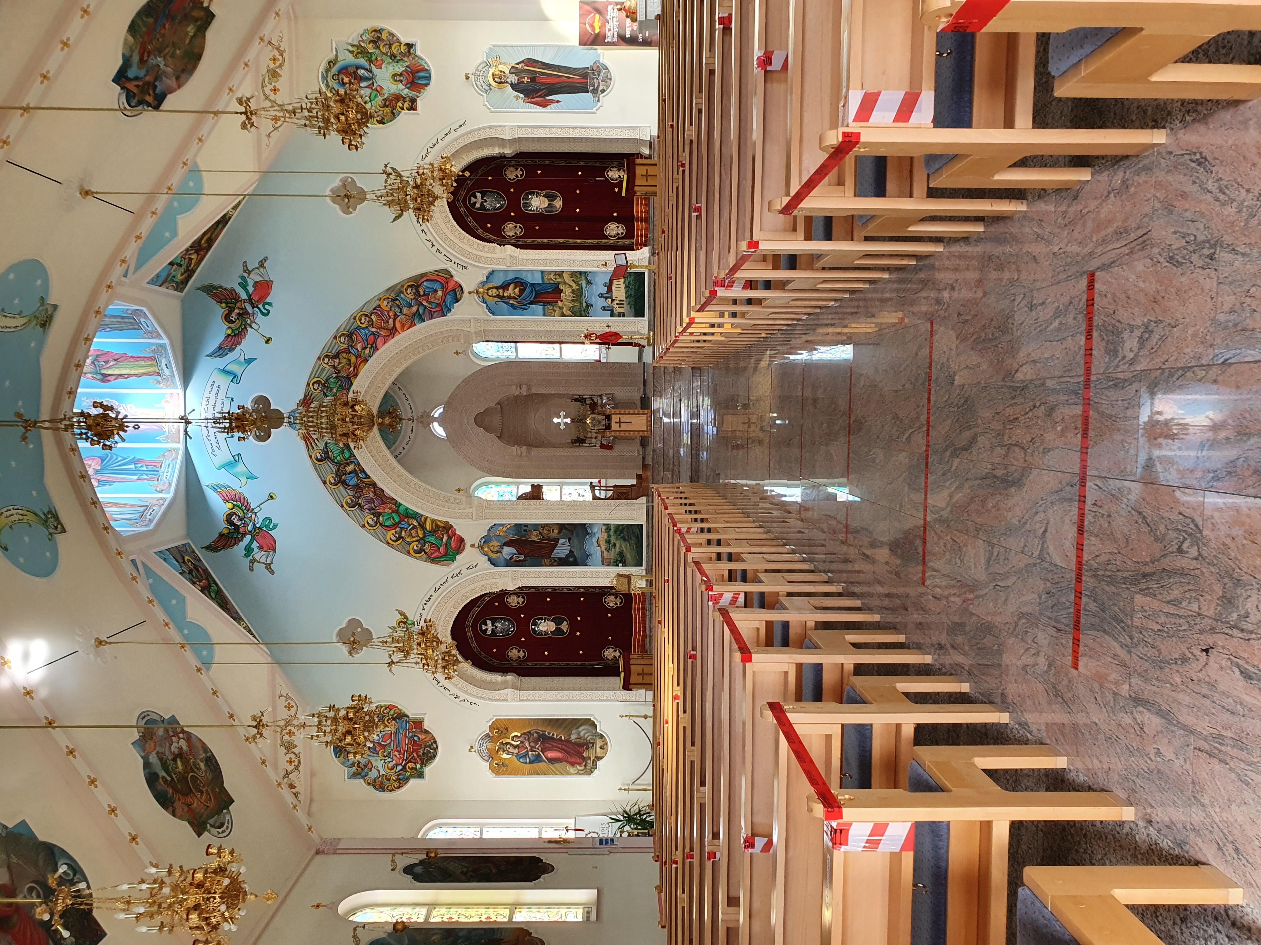 Syrisch-orthodoxe Kirche Mor Gabriel in Kirchardt · Das